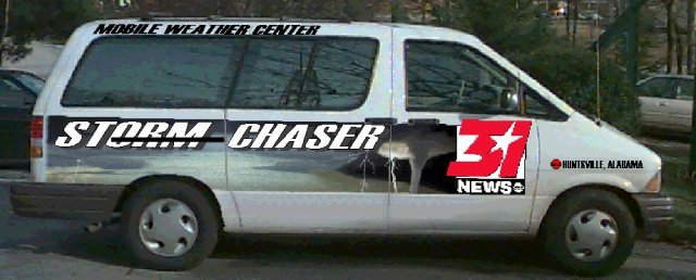 Storm Chaser van