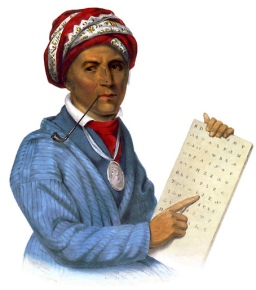 George Gist, also lnown as Sequoyah, invented the Cherokee alphabet in 1821